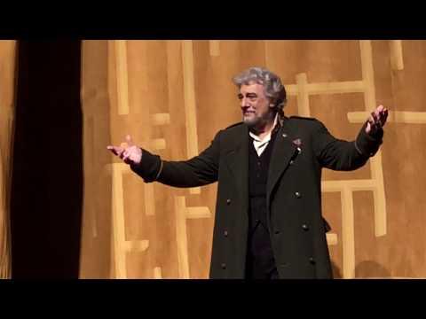 Luisa Miller Curtain Call - 4/21/18 - Met Opera - de Billy; Yoncheva, Petrova, Beczała, Domingo, Be