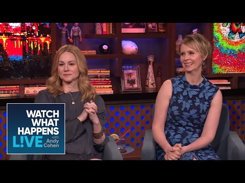 Cynthia Nixon Tells When She Lost Her Virginity  WWHL