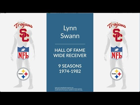 Lynn Swann Hall of Fame Football Wide Receiver