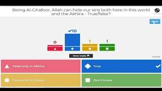 Asma ul Hoosna Quiz on Class 5 & 6