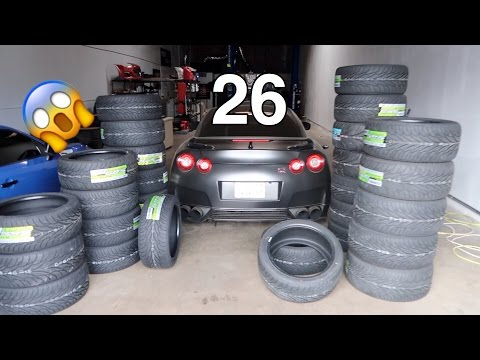 I GOT AS MANY TIRES AS POSSIBLE [Extreme MEAT warning]