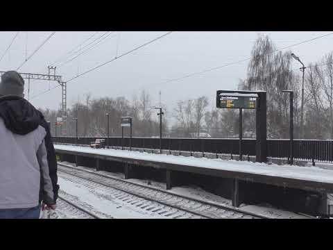 Платформа Хлебниково Савеловского направления после реконструкции