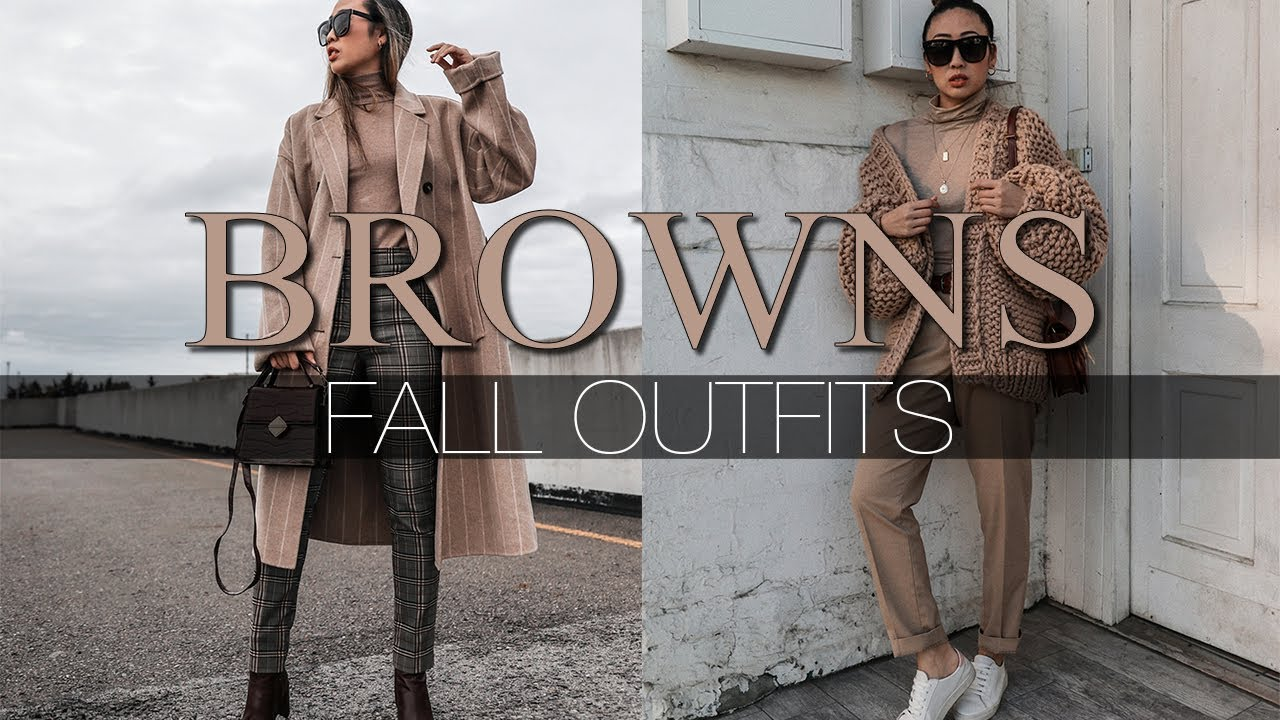 [VIDEO] - BROWNS | Fall Outfits 1