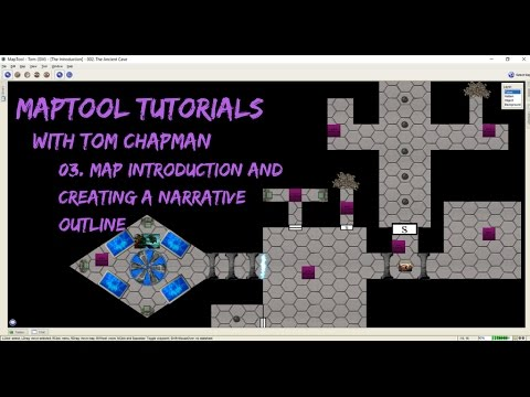 MapTool Tutorial - 03. Map Introduction And Creating A Narrative Outline