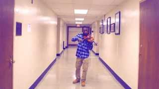 drunk in love by beyonce ft jay z violin cover emmanuel houndo