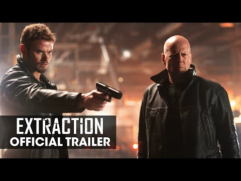 Extraction 2015 Movie Bruce Willis Kellan Lutz Gina Carano Official Trailer Youtube