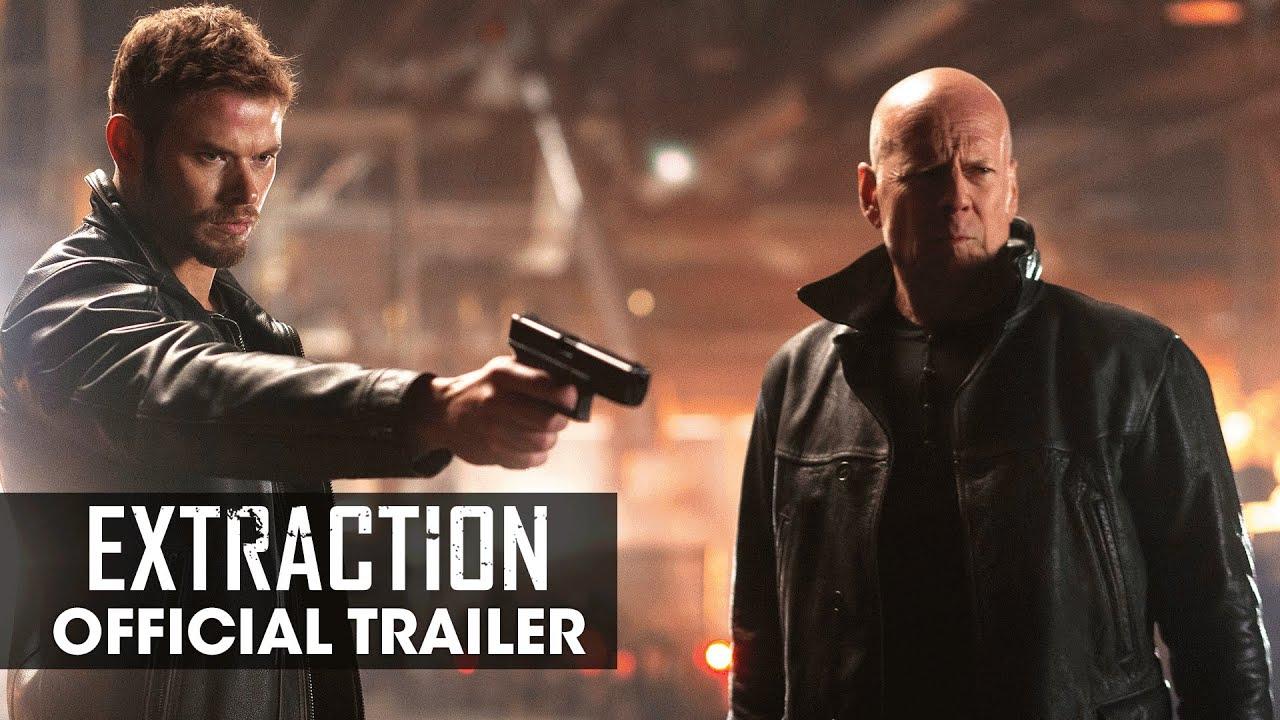 Extraction 2015 Movie Bruce Willis Kellan Lutz Gina