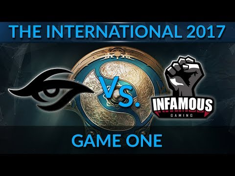 TI7 - Team Secret vs. Infamous Replay Analysis by 7.4k MMR player SMD