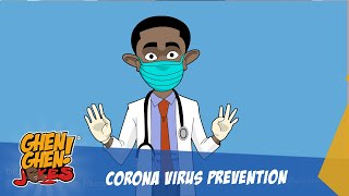 CORONAVIRUS PREVENTION BY DR. KOJO (GHEN GHEN JOKES COMEDY)
