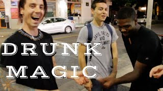 DRUNK MAGIC Pilot Episode (Magician Joe Brogie)