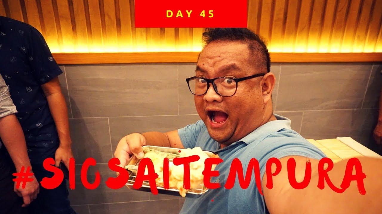 Day 45: Siosai Tempura by Yasu Suzuki - YouTube