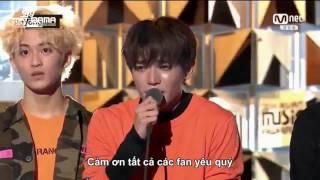 [Vietsub] 161202 MAMA 2016 - NCT 127 nhận giải Best New Male Artist
