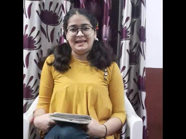 Poetry Entry   Mehak Dhar   Jammu, India