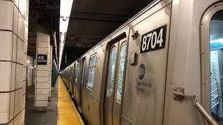 NYC Subway | R160 (W) Train @ Kings Hwy & 45th Street