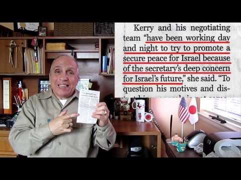 John Kerry, Israel Iran's bomb