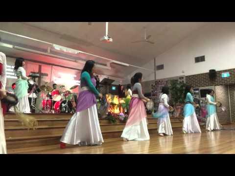 Terima sukacita Surga ( tambourinne ) -  HOUSE OF SACRIFICE