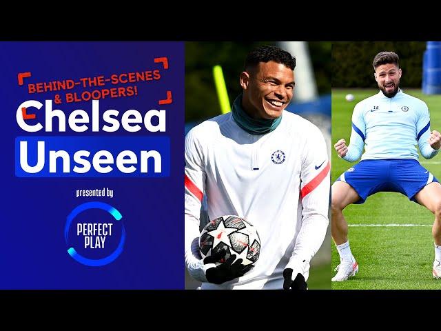 Thiago Silva Plays Flip Cup, Werner & Ziyech Megged! | Chelsea Unseen | Behind-the-scenes & Bloopers