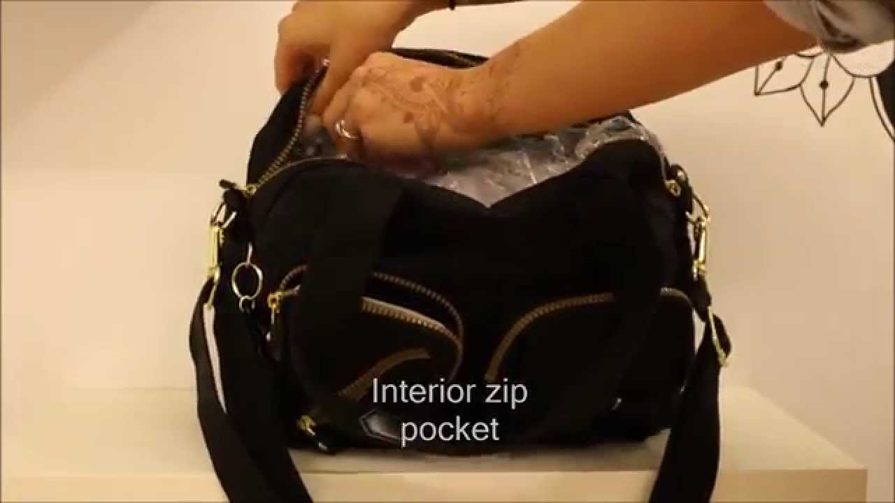 Kipling Defea Bag Demonstration Review