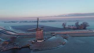 Winter in Nederland. 19 01 2019 Berkmeerpolder