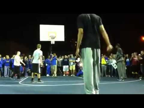 Anthony Davis DESTROYS college trash talker!!