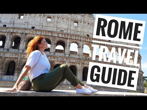 Ταξίδι στη Ρώμη - Rome City Tour, Italy Travel Vlog