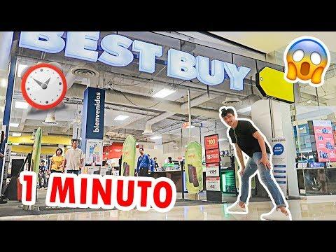 TODOS LOS PRODUCTOS ELECTRÓNICOS QUE PUEDA TOMAR EN 1 MINUTO SON GRATIS *Best Buy*