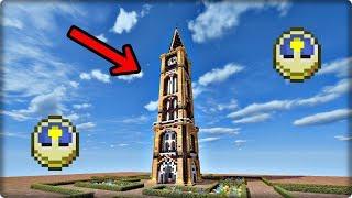 【マインクラフト】時計塔を建築してみる【時計塔の作り方】