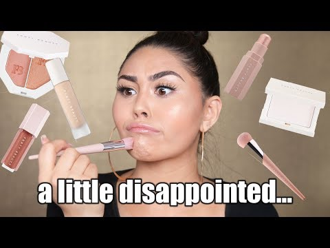 TESTING FENTY BEAUTY BY RIHANNA MAKEUP COLLECTION | Roxette Arisa