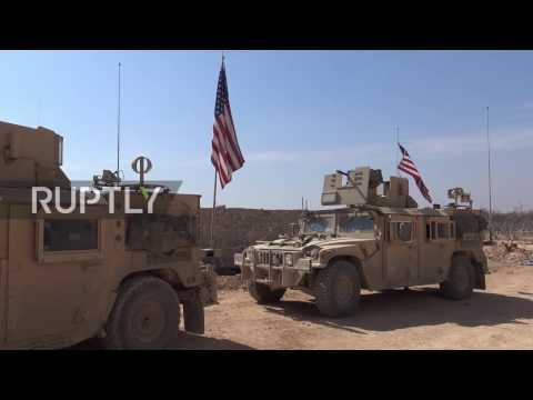Syria: Kobane residents back US-led coalition against Turkish 'incursion'