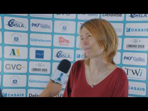 Round 6 Gibraltar Chess post-game interview with Pia Cramling