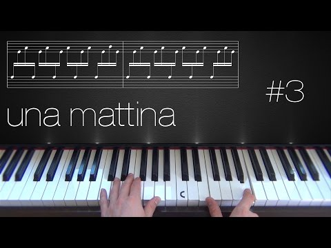 Una Mattina ~ Piano Tutorial ~ Part 3