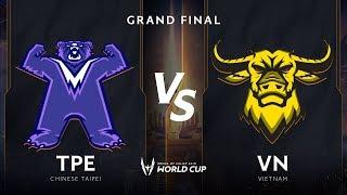 Việt Nam vs Đài Bắc Trung Hoa  - Chung Kết AWC 2019 - Garena Liên Quân Mobile