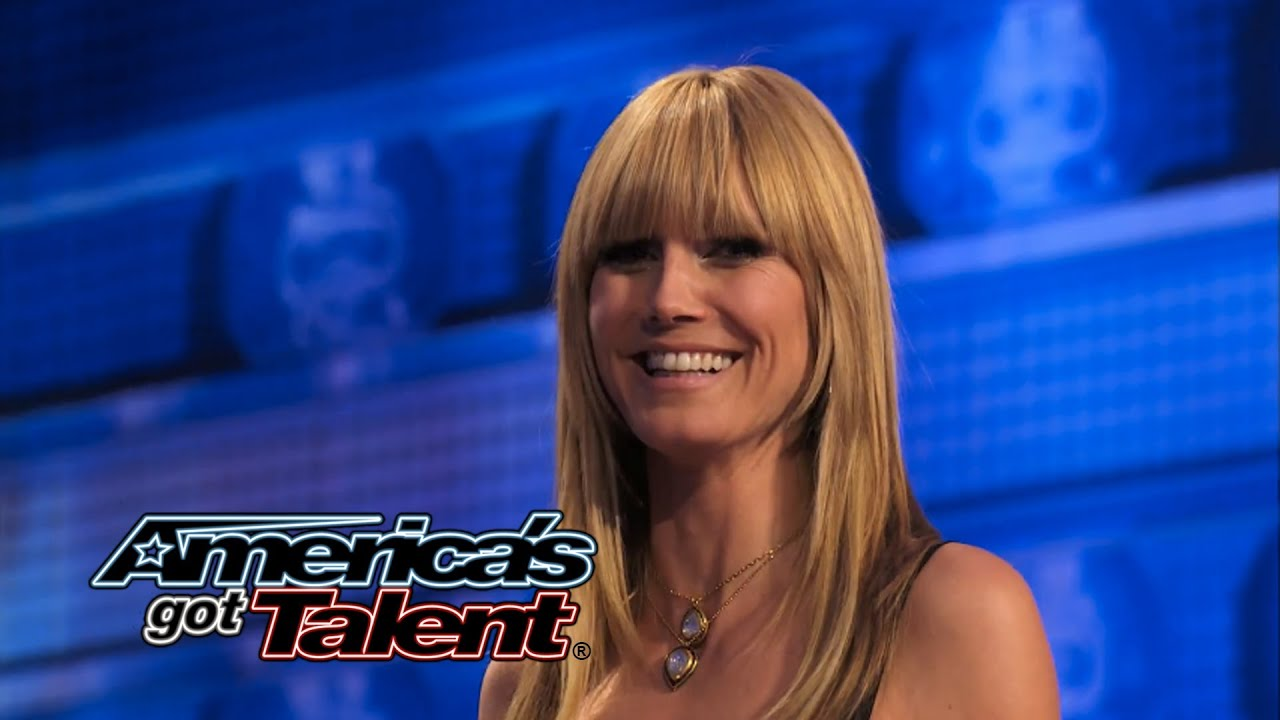 Rich Magician  Magician Removes Heidi Klum s Bra - America s Got Talent 2014 5fdfb4d48
