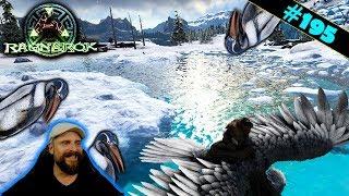 ARK Ragnarok deutsch | #195 | Grob durchzähmen und ab zum See im Eis | gameplay german