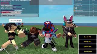 ORANGE JUSTICE DANCE IN ROBLOX (SEHR FUNNY)