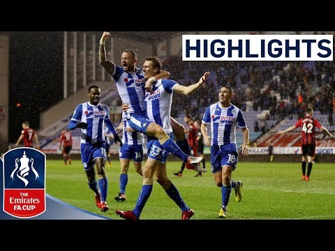 Wigan 3-0 Bournemouth | Emirates FA Cup 2017/18
