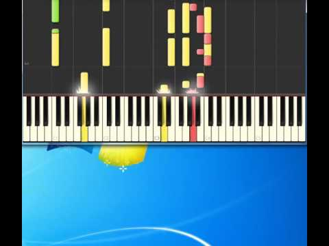 Charlie Rich   The Most Beautiful Girl [Piano tutorial by Synthesia]