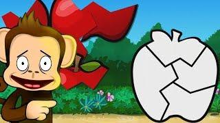 Обеденный перерыв Обезьяны Обучающая ИГРА МУЛЬТИК для Детей - Monkey Preschool Lunchbox