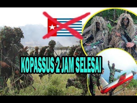 DISERBU KOPASSUS Kelompok KKB Papua Kocar Kacir Ke Gunung