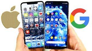 iPhone XS Max vs Google Pixel 3 XL Speed Test!