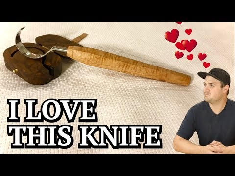 Knife Handle and Storage Box  🔨🌳
