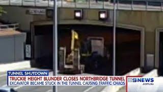 Tunnel Closed | 9 News Perth