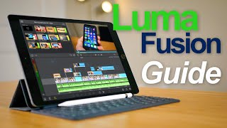 LumaFusion Tutorial for Beginners - Video Editing on the 7th Gen iPad!