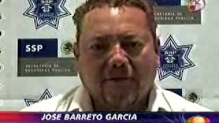 Declaraciones de José Barreto El Contador a la Policía Federal