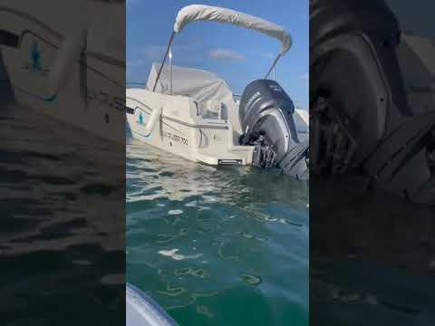 Tour du Pacific Craft 700 sun Cruiser en TEMO  Moteur électrique au Cap Ferret Bassin d'Arcachon