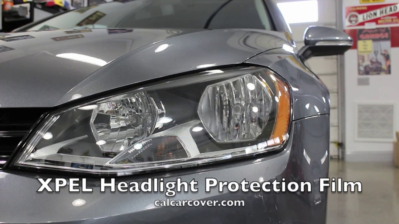Xpel Headlight Protection Film Kit Installation Video By California