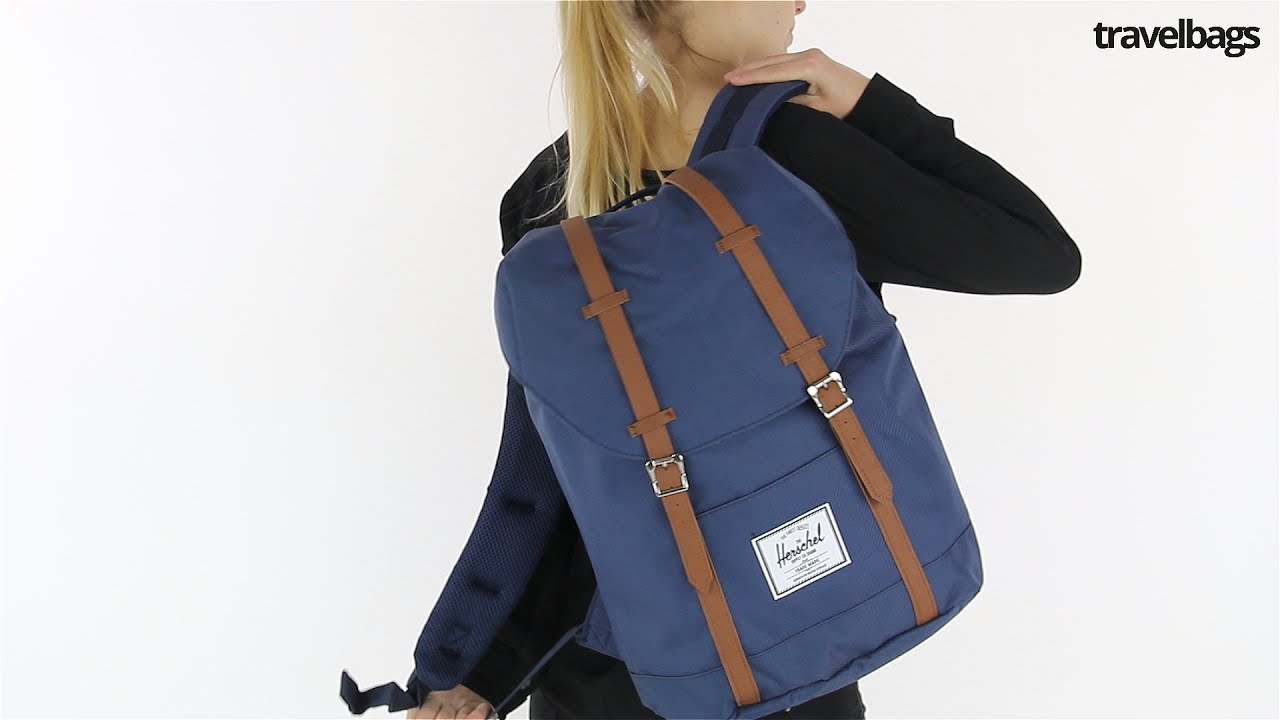 Herschel Supply Co Retreat rugzak - YouTube d1a4bf2da6