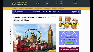 LENDO ICO REVIEW - LONDON'S HOTTEST FINTECH STARTUP