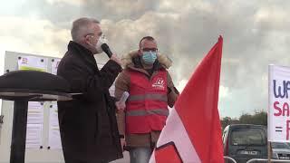 Les salariés du site SKF d'Avallon en grève illimitée.