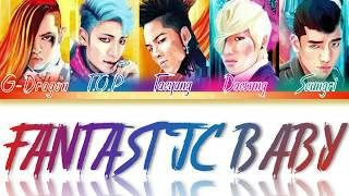 BIGBANG - Fantastic Baby [ Color Coded Rom/Eng/Albanian Lyri…